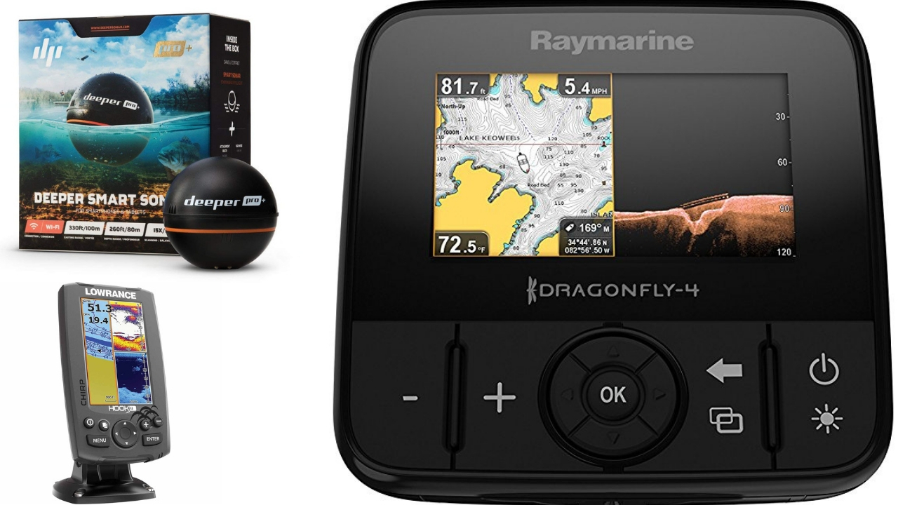 Best Kayak Fish Finders 2018 Make The Most Of Your Fishing