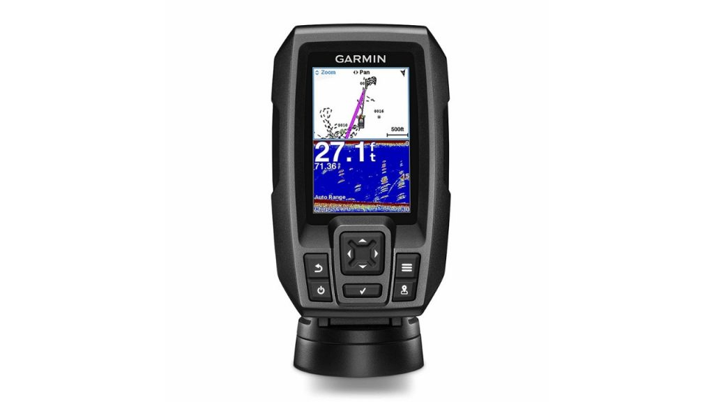 Best Kayak Fish Finders - Garmin Striker 4 with Transducer