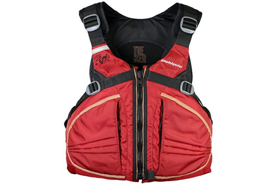 Stohlquist Men's Trekker Life Jacket/Personal Floatation Device