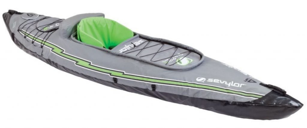 The Best Inflatable Kayaks Sevylor Quikpak K5 1-Person Kayak