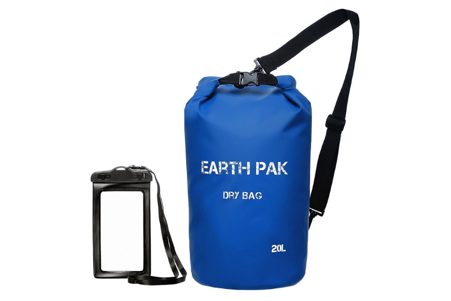 Best Drybags For Kayaking - Earth Paks Waterproof Compression Sack