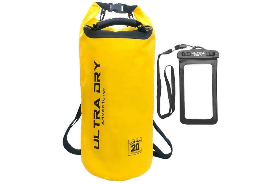 Best Drybags For Kayaking - Ultra Dry Premium Waterproof Bag