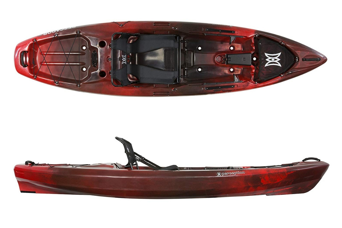 Best Fishing Kayaks - Perception Kayak Pescador Pro Sit On Top for Fishing