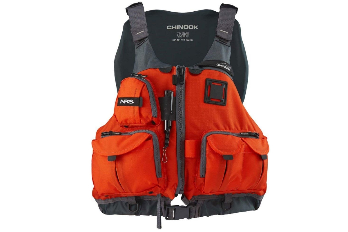 Best Kayak Fishing Life Vest - NRS Chinook Fishing PFD
