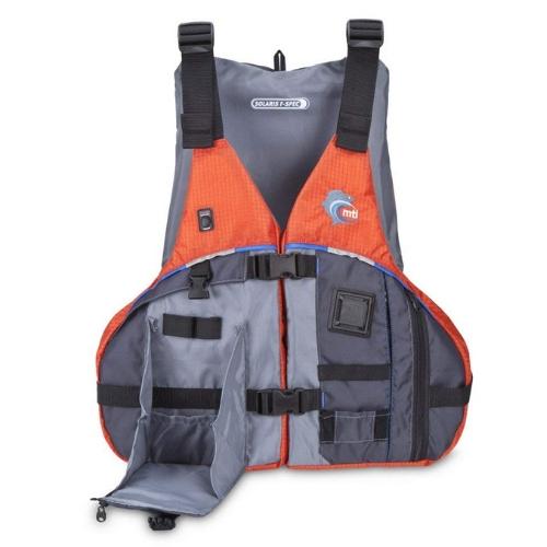 MTI Adventurewear Solaris F-Spec Kayak Fishing PFD Life Jacket