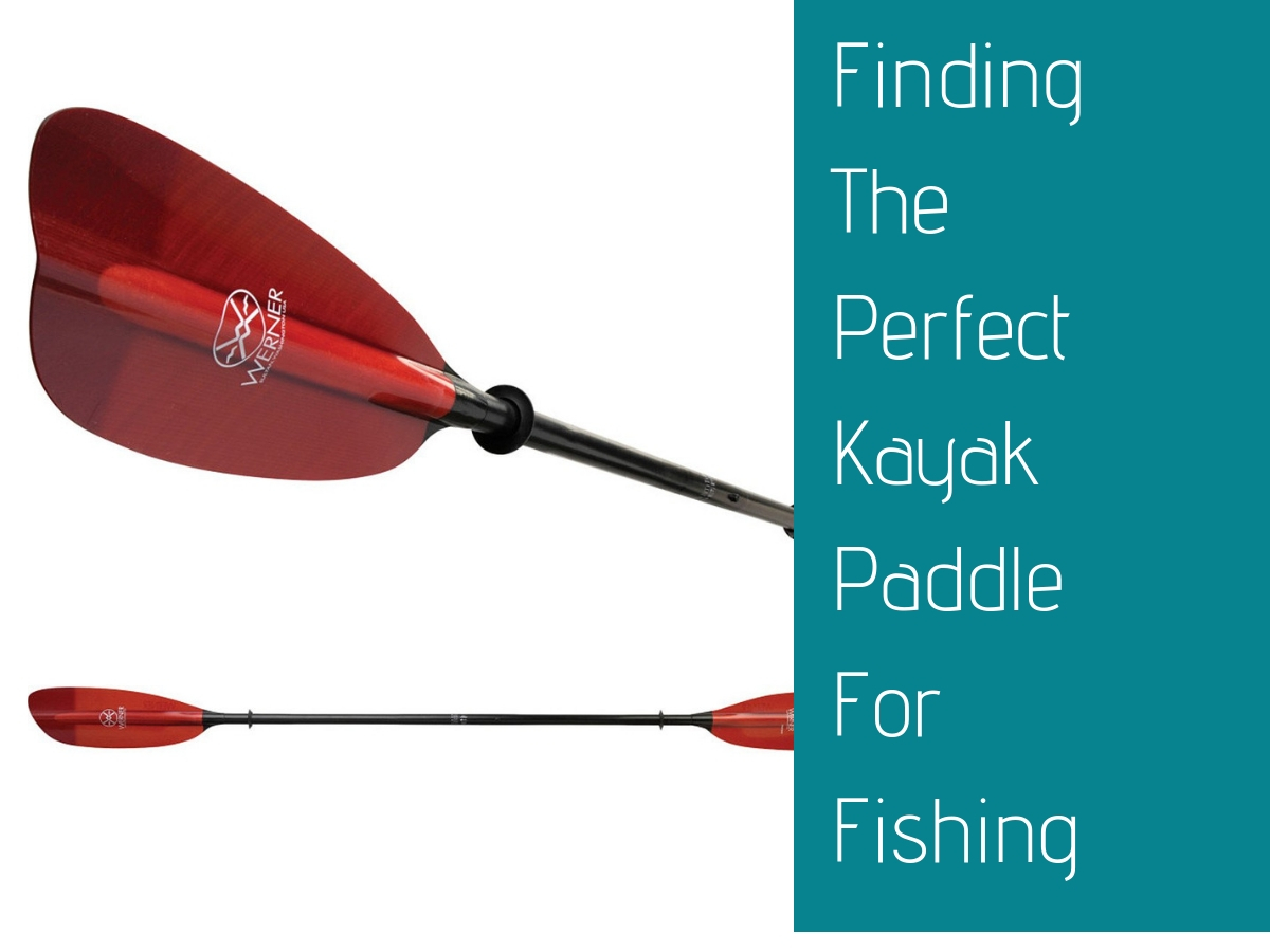 Finding The Perfect Kayak Paddle For Fishing