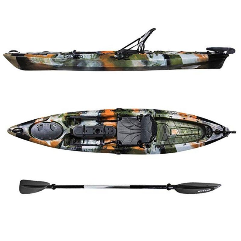 Elkton Outdoors Auklet 120 Fishing Kayak