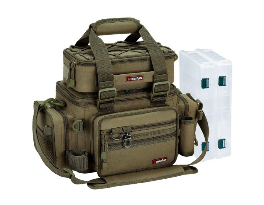 Piscifun Fishing Tackle Box Bag